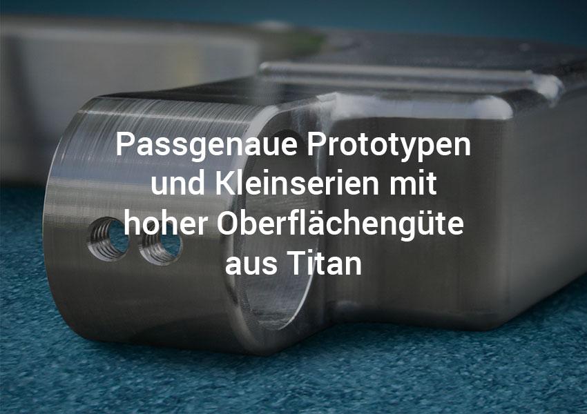 Titanbearbeitung