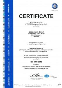 Certificate-DIN-ISO-9001-2015-2020-Gloss-Matrix-GmbH